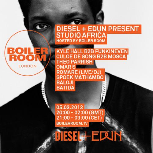 Kyle Hall b2b Funkineven 50 min Boiler Room x Diesel + Edun mix