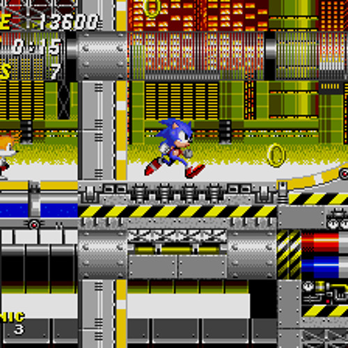Mariochainsaw - Psyonic the hedgehog (chemical plant zone)