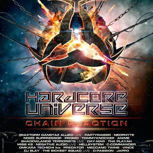 C-COMMANDER - CHAIN REACTION (HARDCORE UNIVERSE 2013 ANTHEM)  Preview