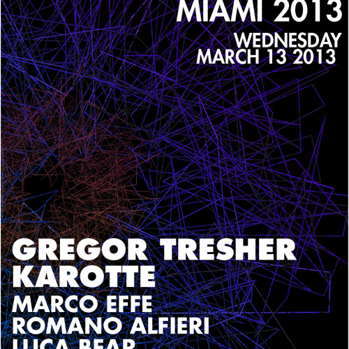 Gregor Tresher - Break New Soil Showcase WMC Miami 2013 Promo Mix