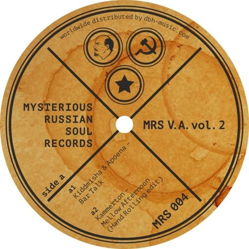 "MRS 004 Kiddmisha & Apoena/Kammerton/Shine Grooves- MRS V.A. vol.2 12"" out now"