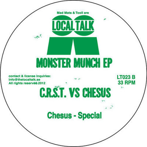 B2. Chesus - Special  (Local Talk)