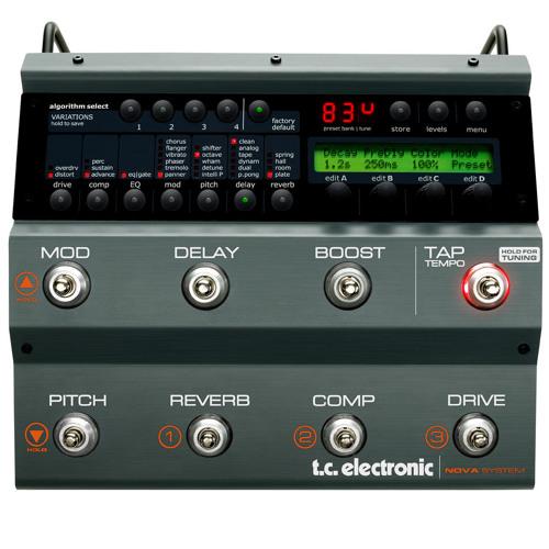 Line 6 JTV89F and TC Electronic's Nova System