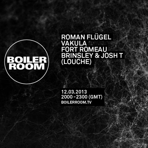 Roman Flügel 50 min Boiler Room mix