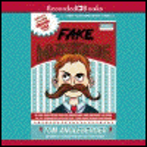 FAKE MUSTACHE by Tom Angleberger, read by Jonathan Todd Ross