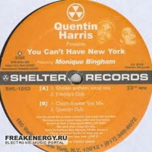You Can't Have New York - Monique Bingham/Quentin Harris - 2005 - Shelter Records