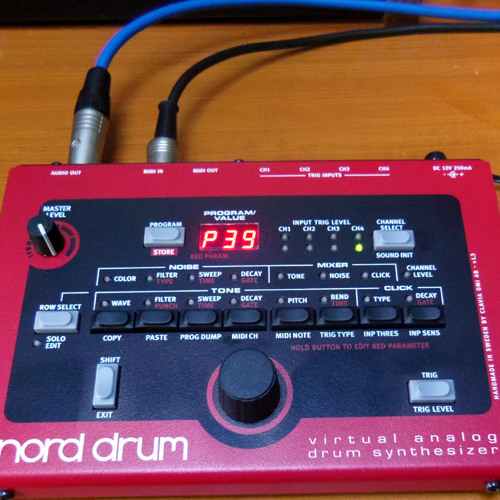 Nord Drum Processed