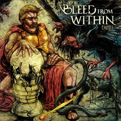 Bleed From Within - The Healing Cover