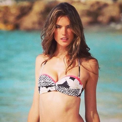 Alessandra Ambrosio Shares Her Bikini Ready Tips