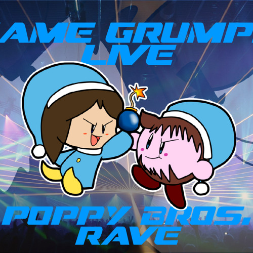 Game Grumps Live-Poppy Brothers Rave Party