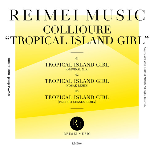 Collioure - Tropical Island Girl (preview cut) [RMD04]