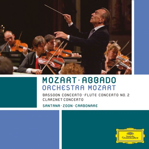 Abbado and Orchestra Mozart play Mozart's Concerto for Clarinet and Orchestra in A major (Adagio)