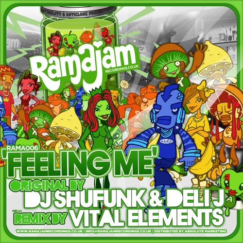 "RAMA 006 - DJ SHUFUNK & DELI J - ""FEELING ME"" - VITAL ELEMENTS (V2E) REMIX"
