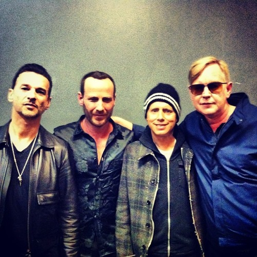 KCRW at SXSW 2013: Jason Bentley with Depeche Mode Backstage