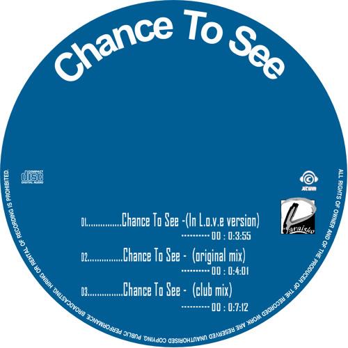 Paraisko -  Chance to see (RADIO EDIT)