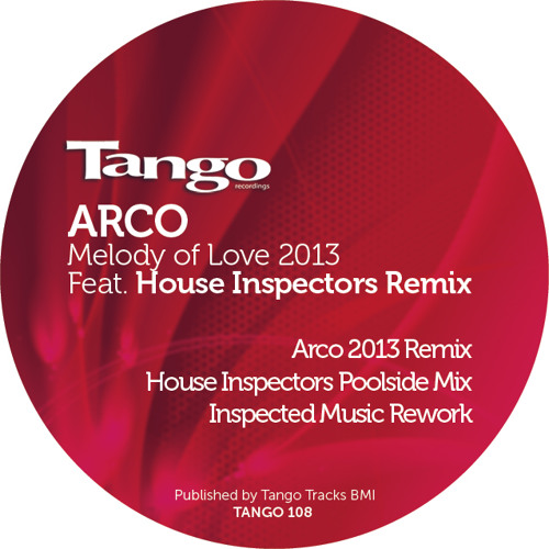 Arco-Melody of love 2013 remix-Tango rec.(2013)