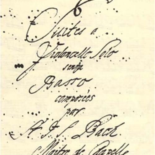 Anne Richardson - Cello Suite No. 5 by Bach