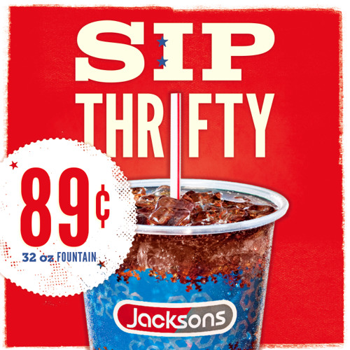 "Jacksons ""89¢ 