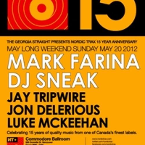 Nordic Trax Radio - NT X 15 - Part 2: Mark Farina, DJ Sneak - May 20, 2012