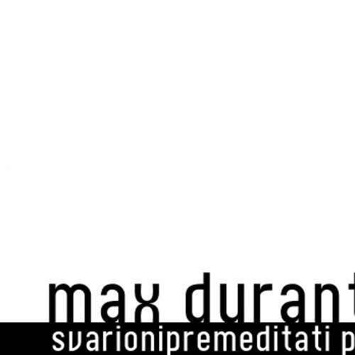 Max Durante - Svarionipremeditati Podcast #21