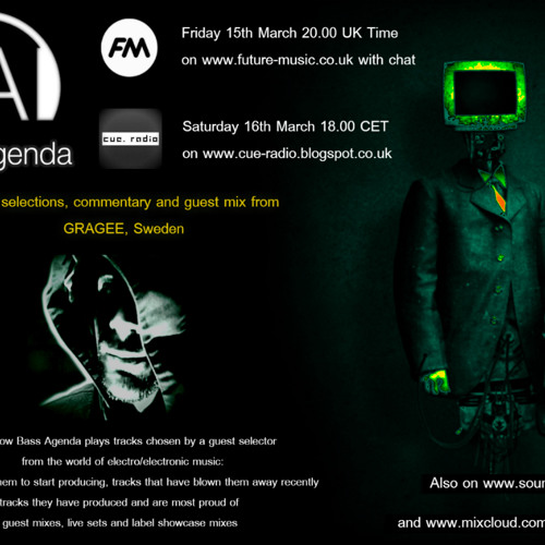 Bass Agenda 49 with guest selections & mix from Gragee