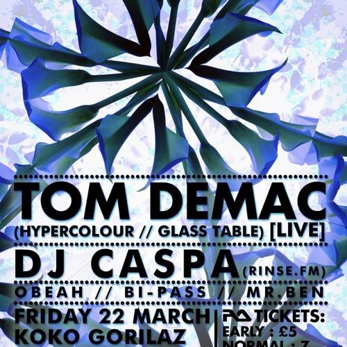 DJ CASPA UPFRONT AND PERSONAL VOL  5…16.3.13