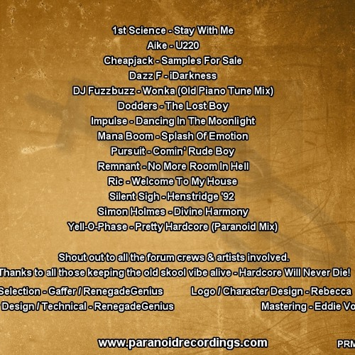 PURSUIT - COMIN' RUDEBOY / +14 TRACK FREE ALBUM DOWNLOAD :) (PARANOID RECORDINGS)