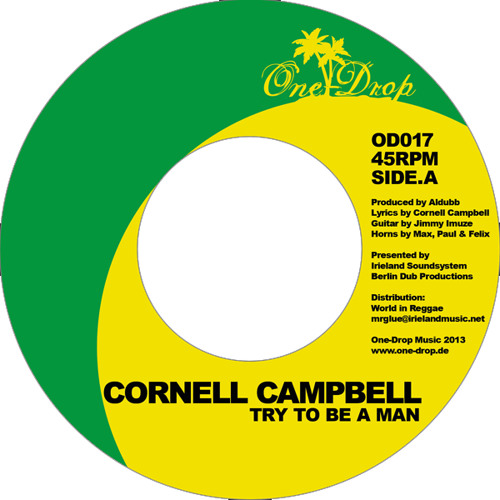"Cornell Campbell / Lisa Imuze OD017 /7""snip"