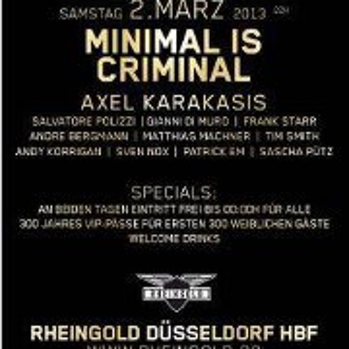 Salvatore Polizzi @ Rheingold 02.03.2013 !!! FREE DOWNLOAD !!!