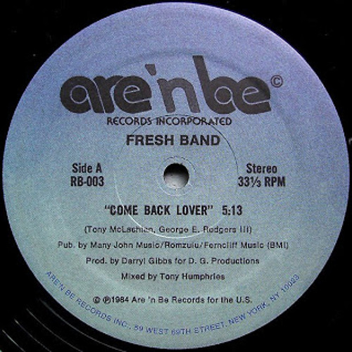 04 Come Back Lover   Fresh Band   Disco Spectrum