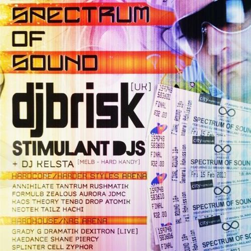 Brisk at Spectrum Of Sound, Adelaide 15th Feb 2013