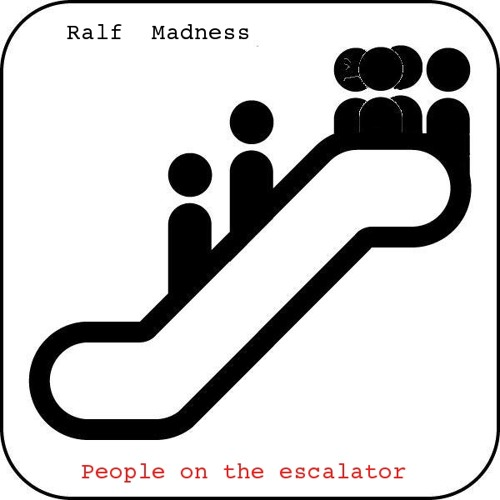People on the escalator