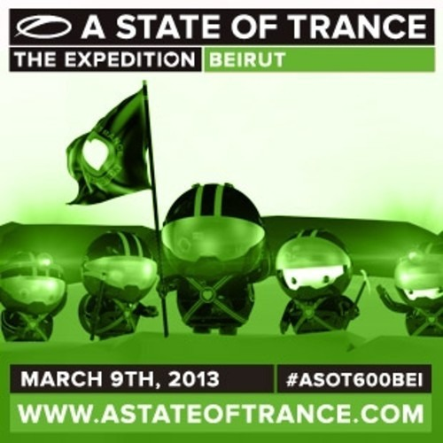 Dash Berlin Live Mix: A State of Trance (ASOT) 600 Lebanon, Beirut - March 9th, 2013