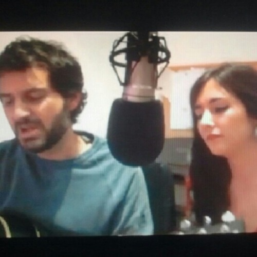 Little talks cover (Clara and Miquel)