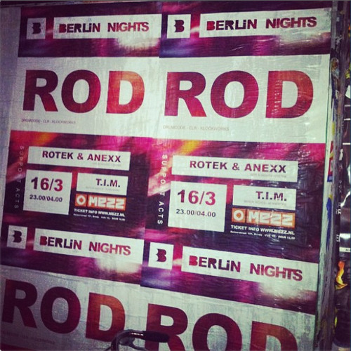 ROD @ Berlin Nights, Mezz, Breda (16-3-2013)