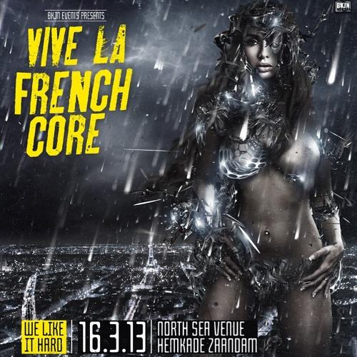HardT3k-Tic & Johnny Napalm @ Vive La Frenchcore 16-03-2013 (Tekno Du Future Area)