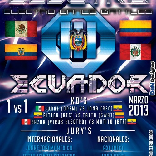 Set OPERA ELECTRO ECUADOR III Jury: JUANE