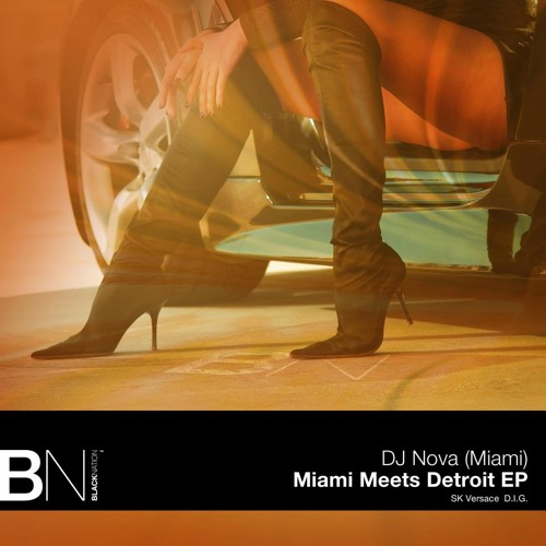 DJ Nova - D.I.G. (Original Mix) - Black Nation Recordings