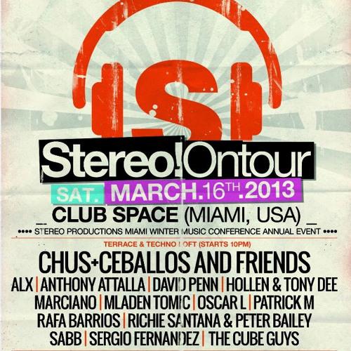 Mladen Tomic - Live @ Space Terrace, Miami, WMC Stereo on Tour, 16.03.2013.