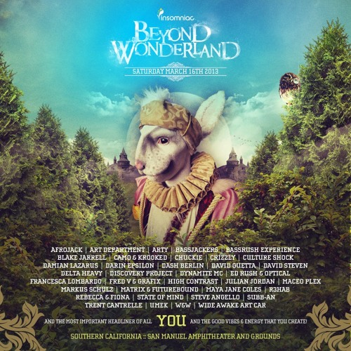 Darin Epsilon - Live at Beyond Wonderland [Mar 16 2013]
