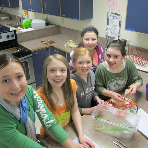 Blatchley Students Love Local Fish Lunches!