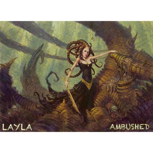 Ambushed - LAYLA - Produced by Dazastah