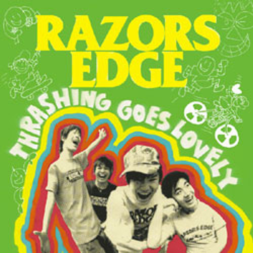 RAZORS EDGE - Black & Green-