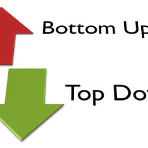 What is bottom Up testing?