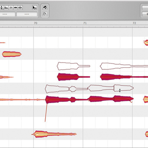 Resampling bass with Melodyne