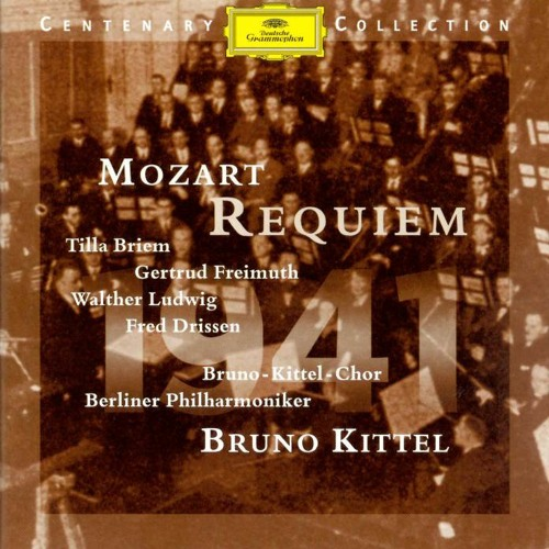 Bruno Kittel conducts Mozart's Requiem (recorded 1941)
