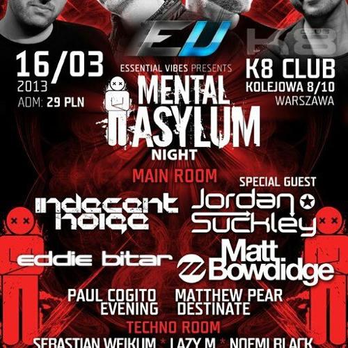 Indecent Noise LIVE @ Mental Asylum Night, Warsaw, Poland (16.03.13)