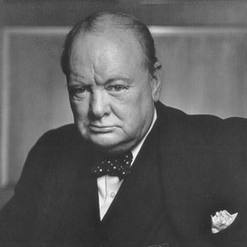 Winston Churchill Never Give In