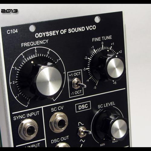 Corsynth C104 - Synced VCO