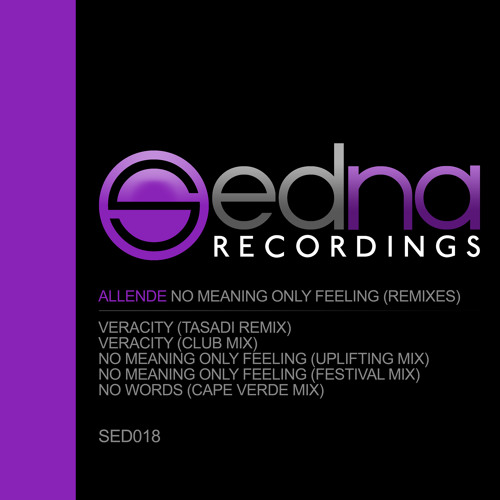 Allende - No Meaning, Only Feeling EP (Remixes)